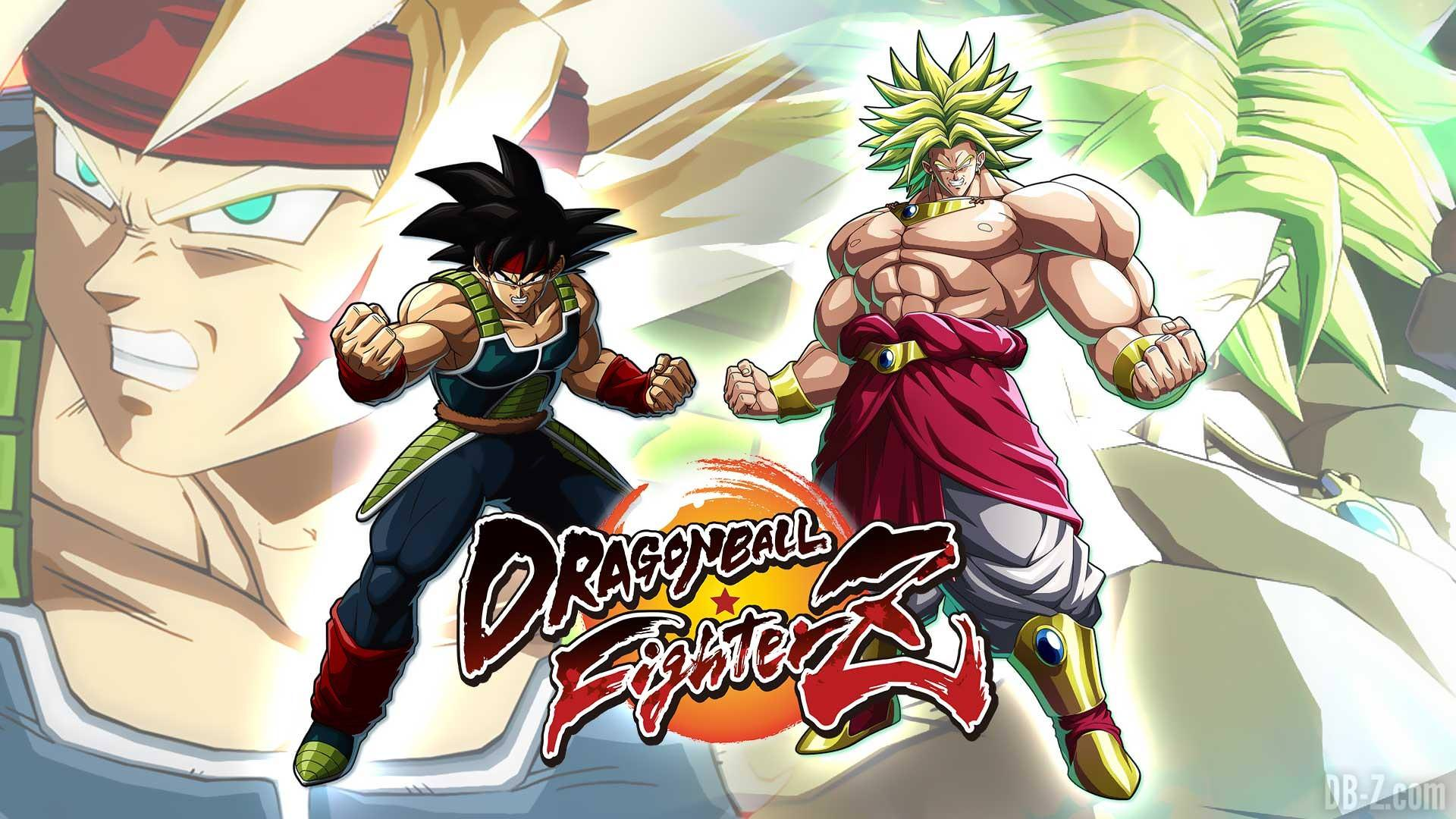 Broly y Bardock ya están disponibles en Dragon Ball FighterZ