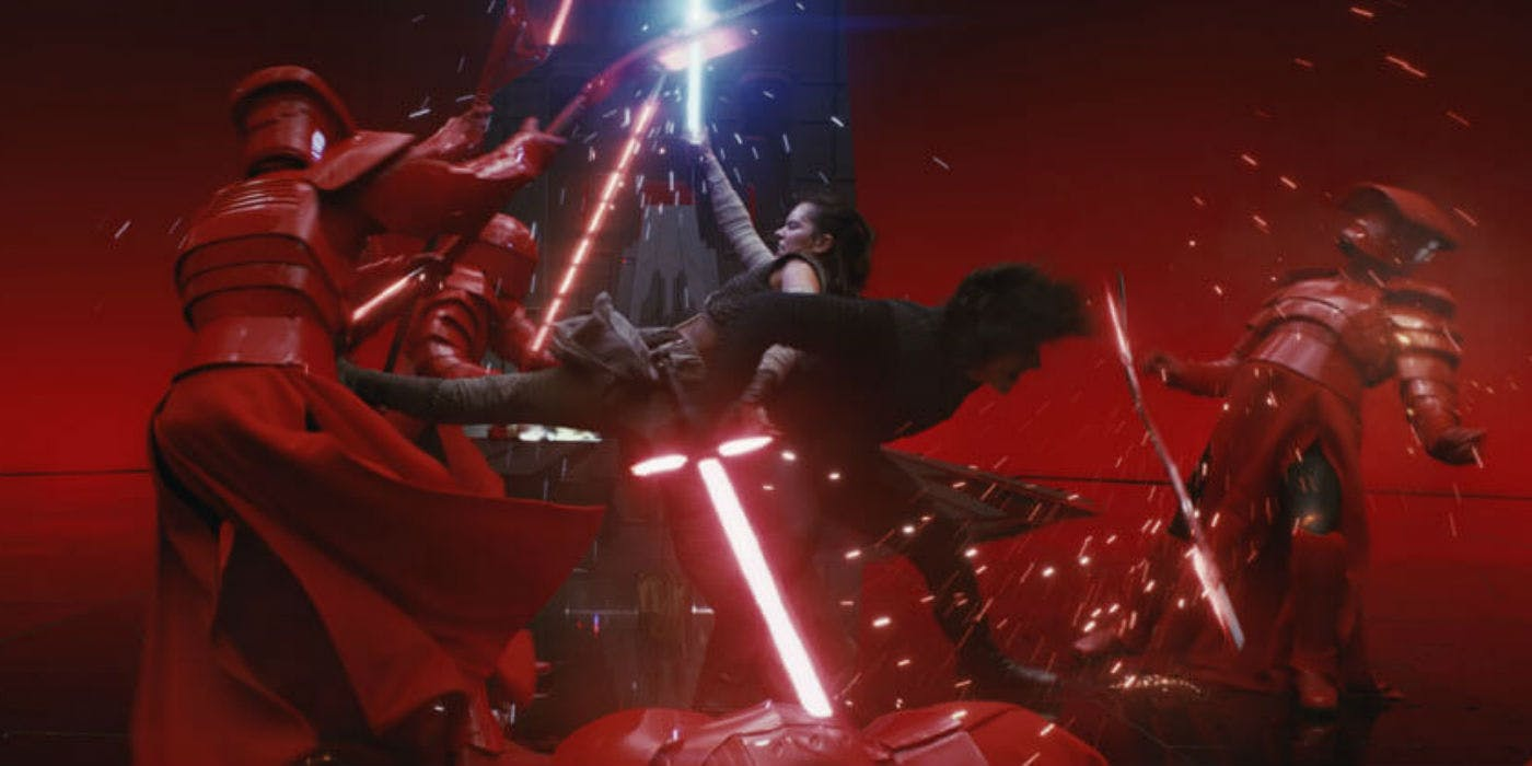 Disney libera la escena más épica de Star Wars: The Last Jedi en Full HD