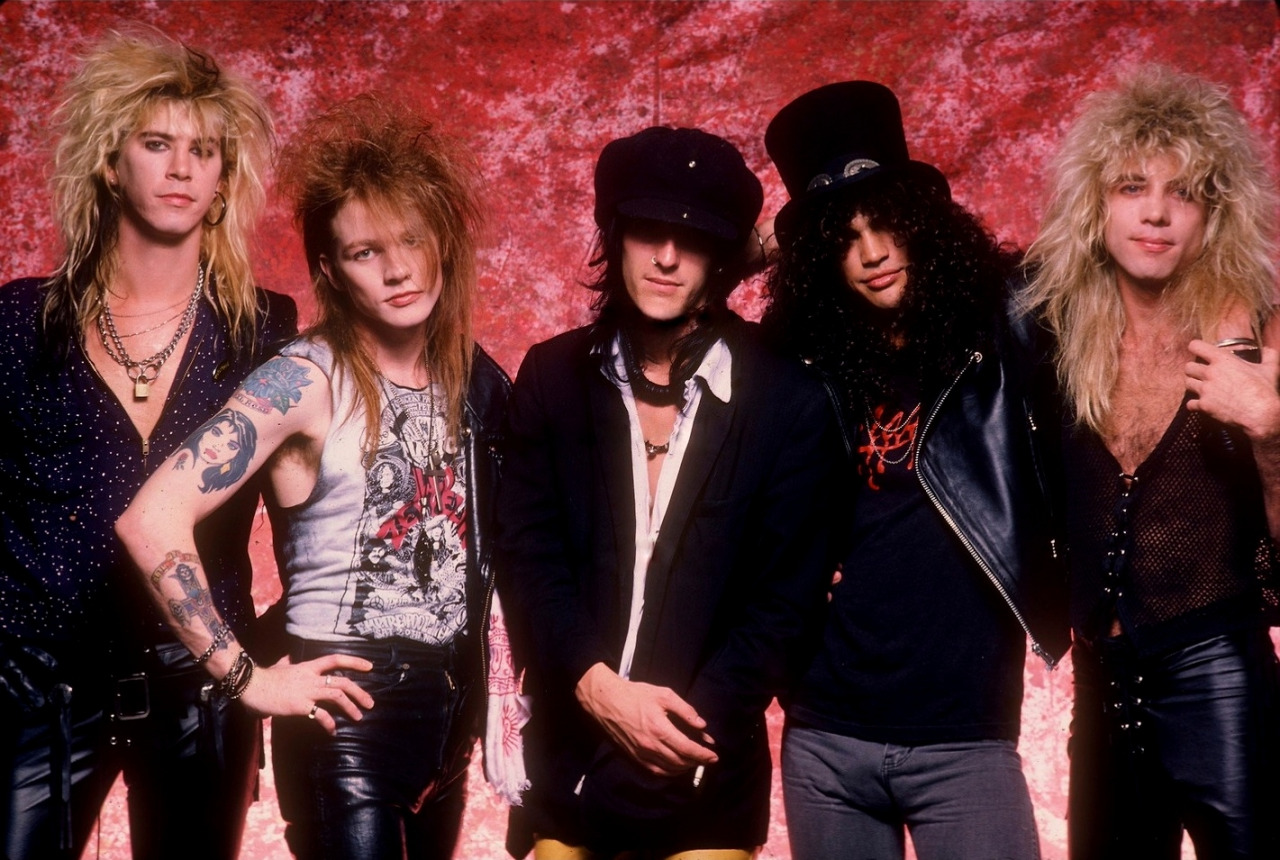 Guns N' Roses lanza canción inédita del Appetite for Destruction