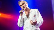 Morrissey Performs At O2 Arena In London