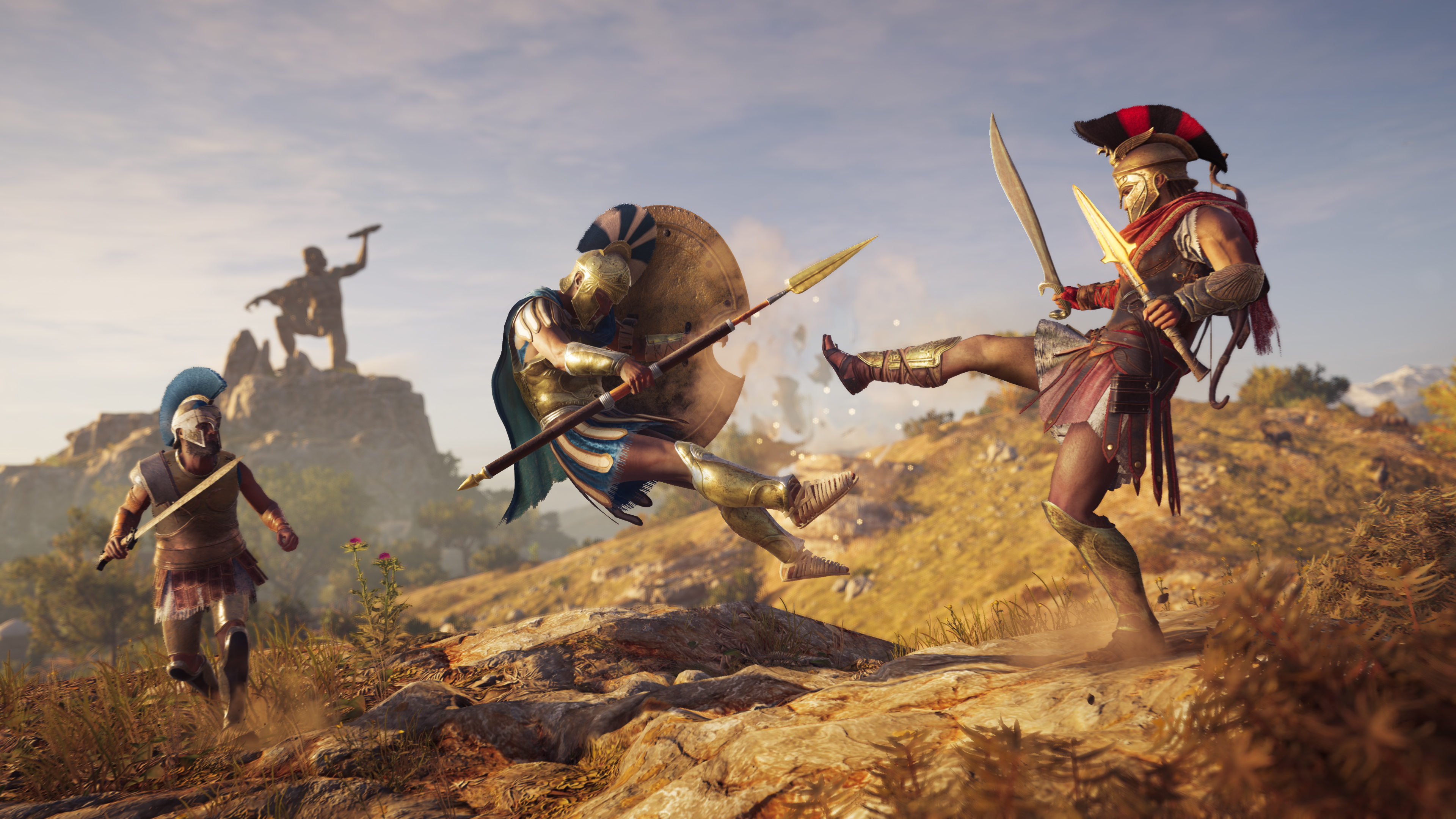 This is Sparta!: Mira el espectacular trailer de lanzamiento de Assassin's Creed Odyssey