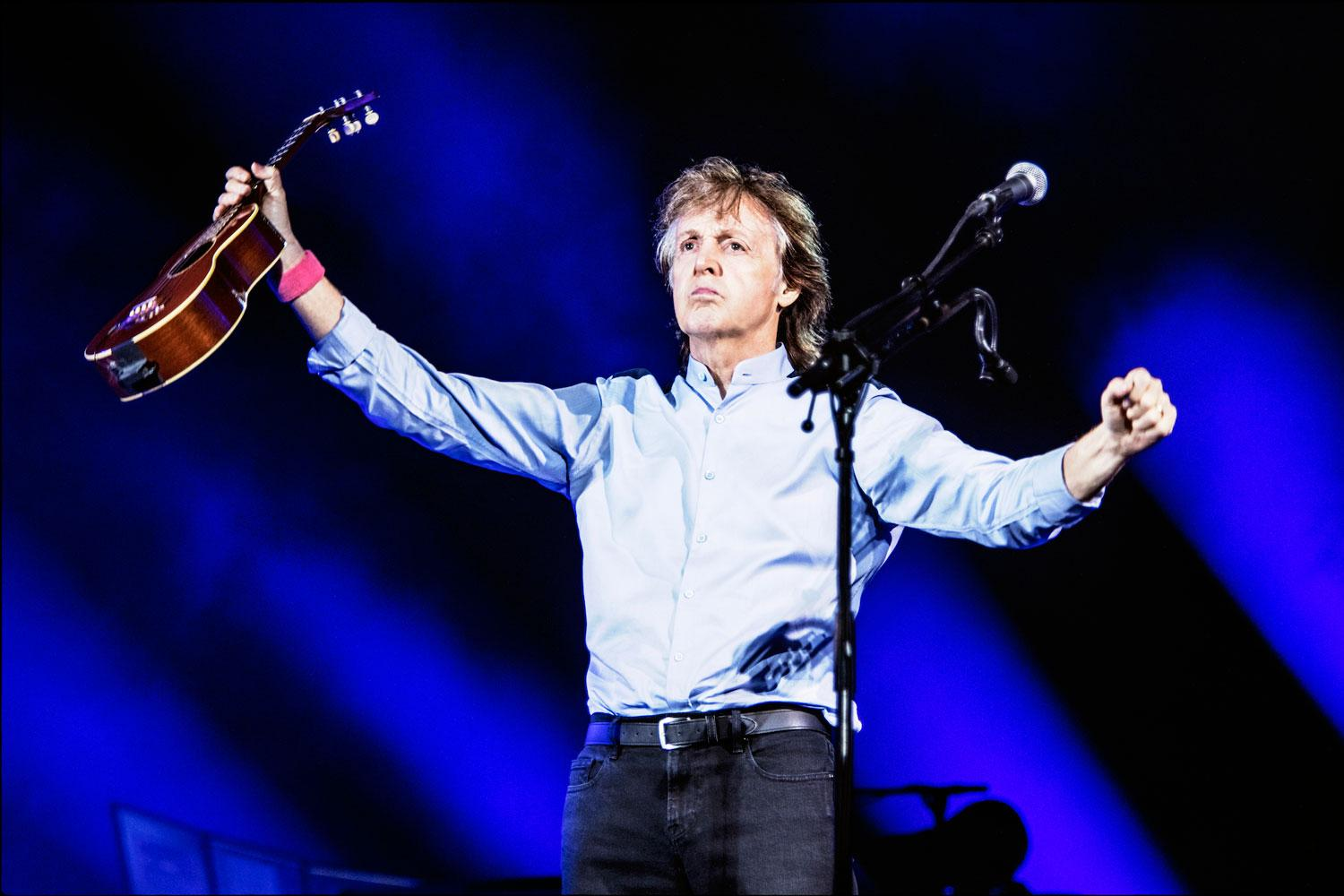Paul McCartney volvería a Chile en marzo para tocar en el Estadio Nacional