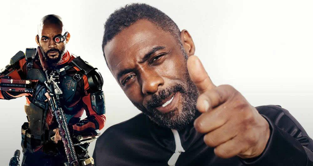 Vuela alto Will Smith: Idris Elba será Deadshot en Suicide Squad 2