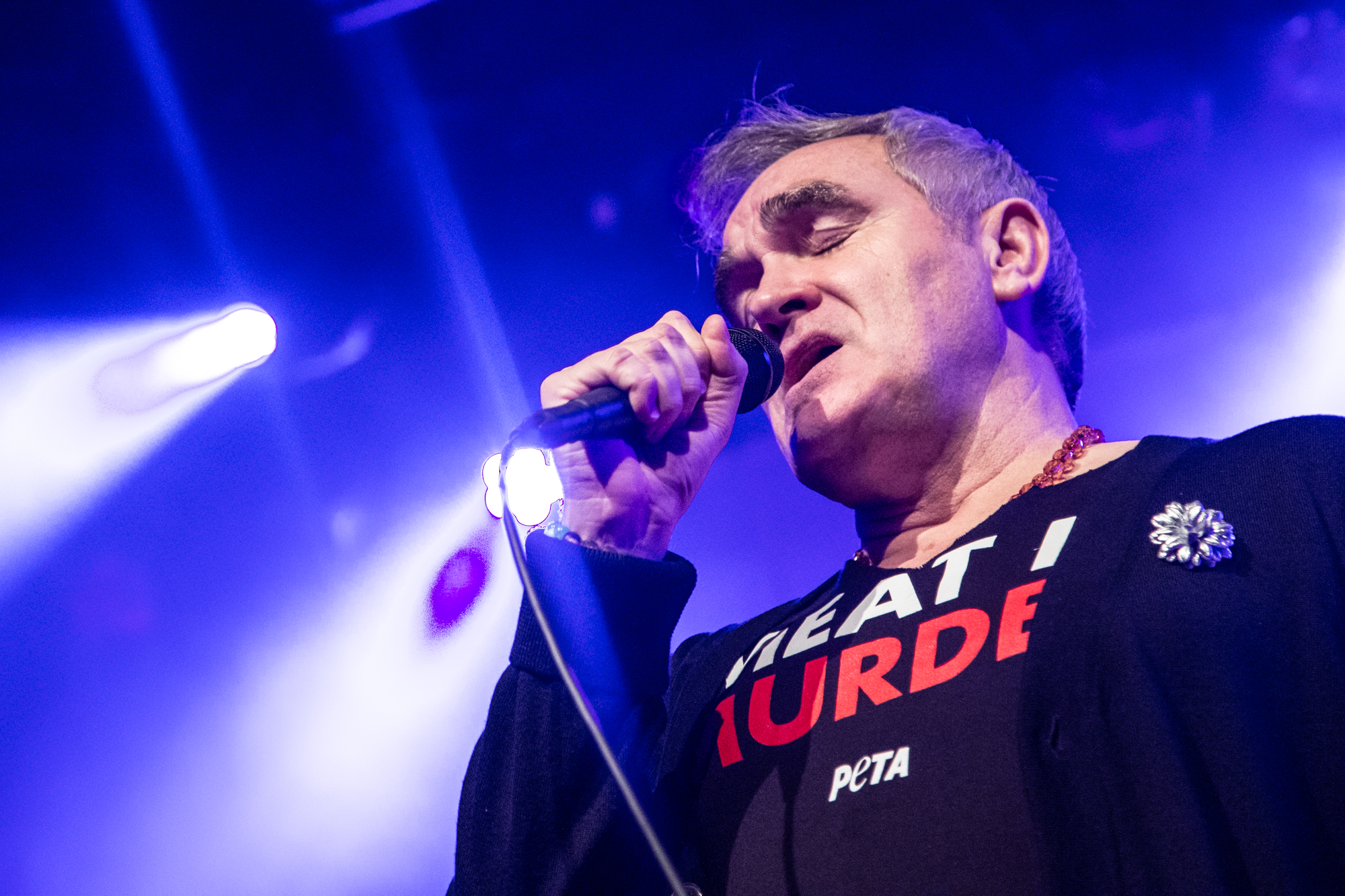 Morrissey anunció un nuevo álbum de estudio: I Am Not a Dog on a Chain