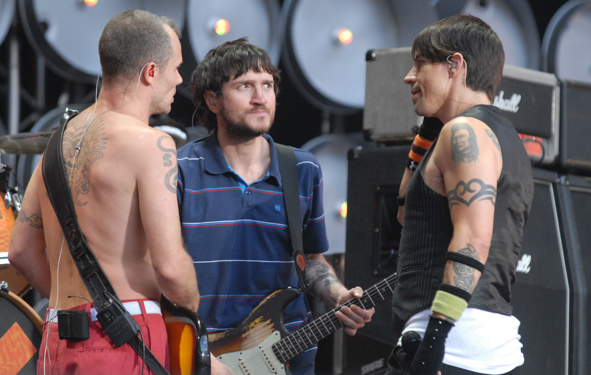 Red Hot Chili Peppers ya está componiendo su nuevo álbum con John Frusciante